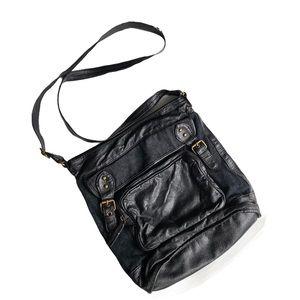 Converse One Star black crossbody bag